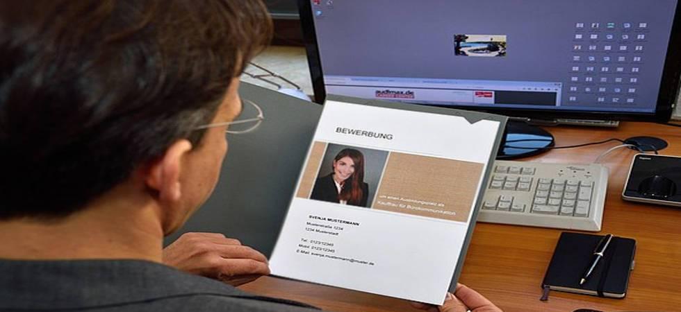 Deckblatt Bewerbung Gestaltung Vorlagen Muster Tipps