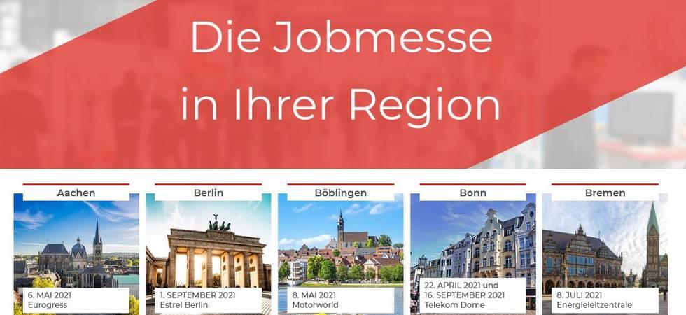 Jobmesse Köln 2021