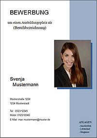 Deckblatt Bewerbung: Gestaltung, Vorlagen, Muster & Tipps